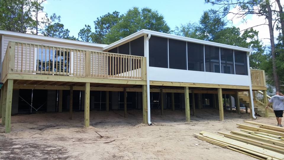 Deck And Fence Installation Gallery Tool Time Building